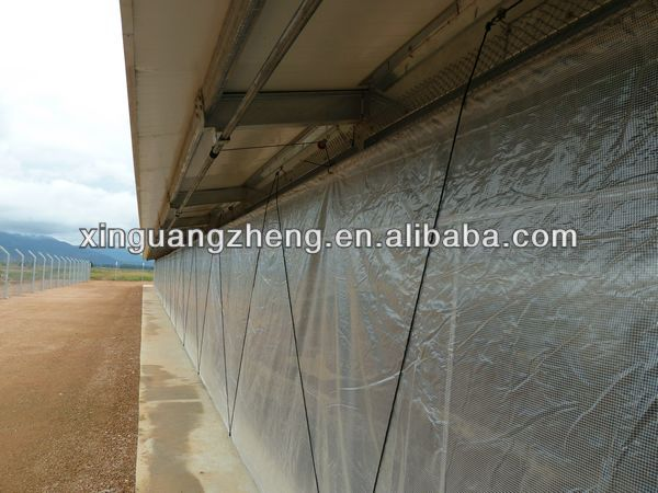 prefabricated cheap egg chicken house design for layers