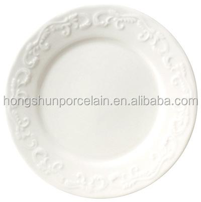 bulk white ceramic dinner platesrestaurant ceramic plates dishes  sc 1 st  Alibaba & Bulk White Ceramic Dinner PlatesRestaurant Ceramic Plates Dishes ...