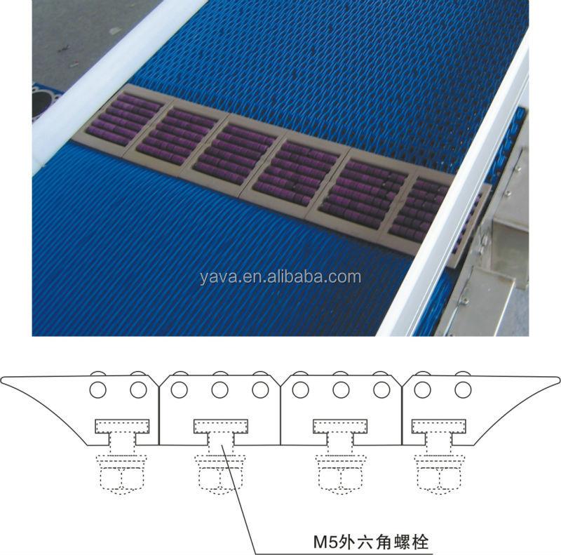 Plastic Modular Belt Flexible Belt Conveyor Transfer