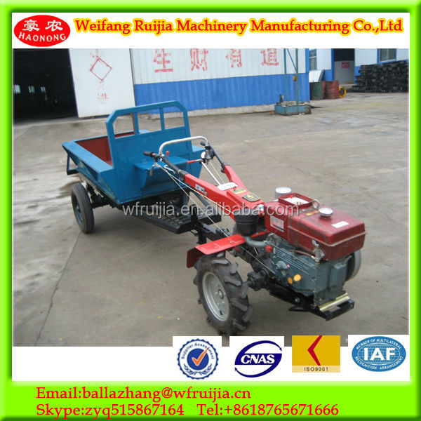 China Ace Supply,Farming Hand Tractor Trailer,2-wheel Walking ...