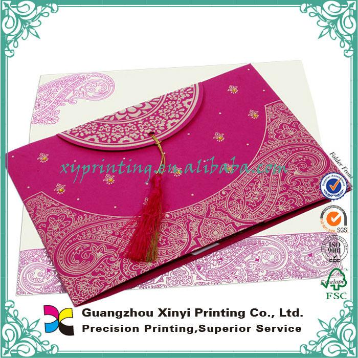Paper Printing Custom Design Bengali Wedding Invitation Card Buy