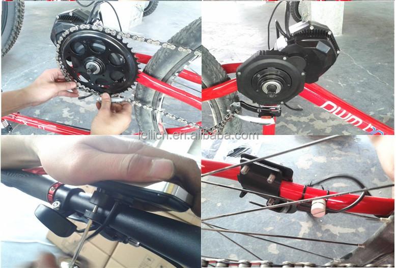 Por 24v Electric Bike Motor Mid Drive Kits With