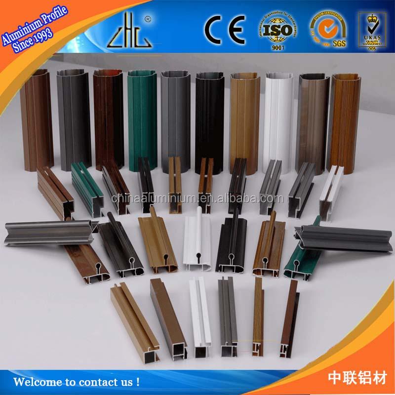Hot!!different Wood Finish Aluminium Decorative Profiles For ...