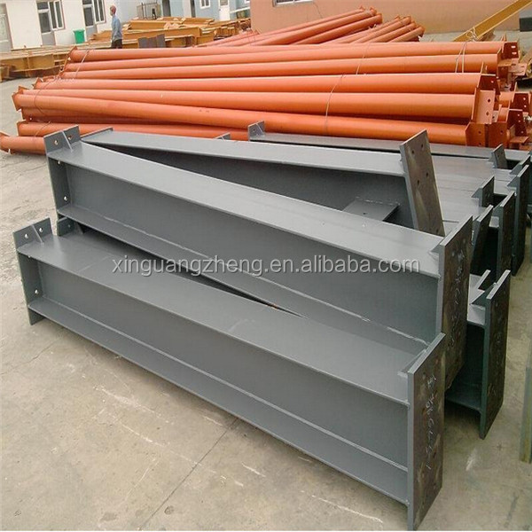 low cost fabricated steel structure workshop/warehouse