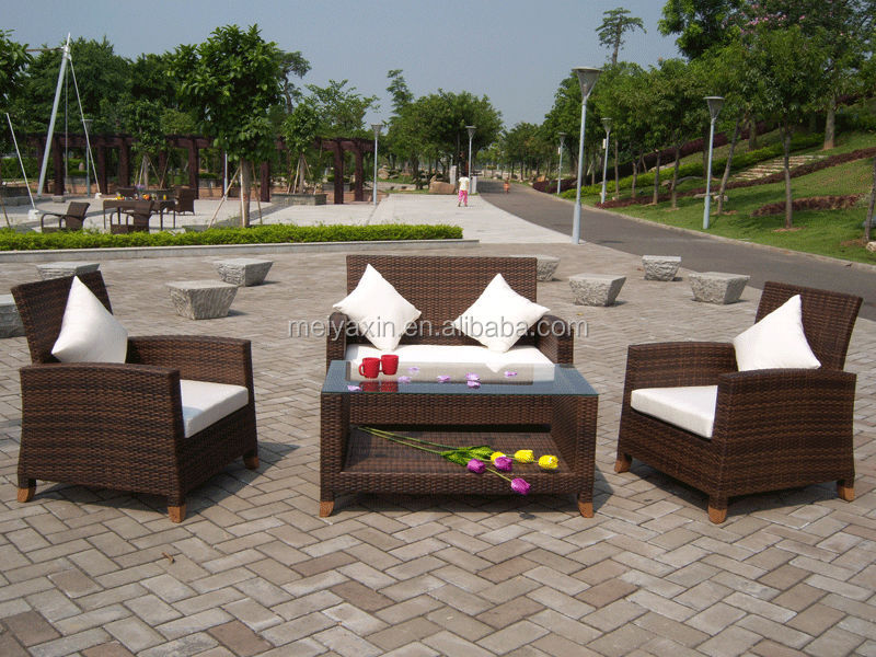 Patio Furniture Wicker Set Royal Outdoor