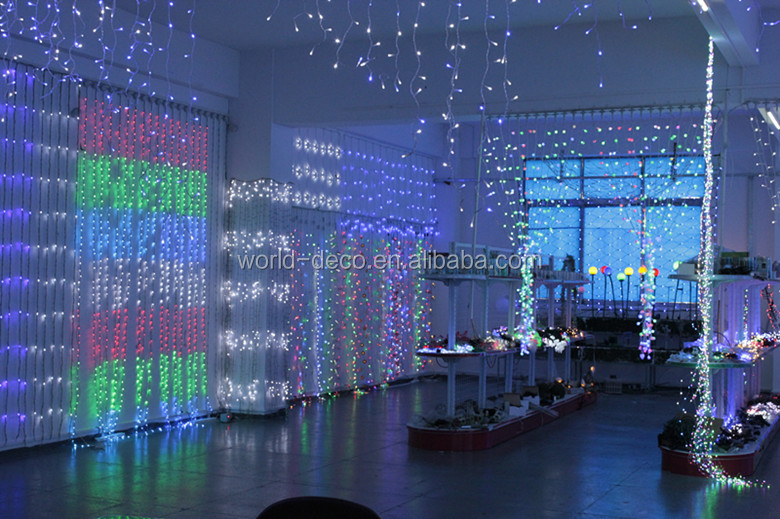 led icicle lights rain drop christmas lights waterfall christmas light led lights snow drop - Waterfall Christmas Lights