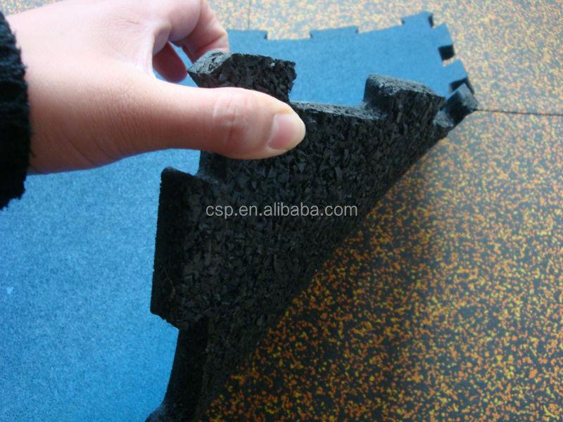 Nuova generazione in gomma piastrelle per pavimenti piastrelle della