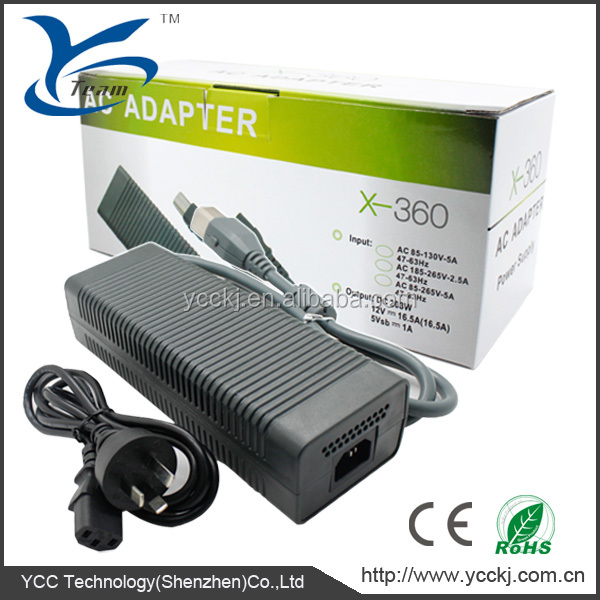 2014 ! Alibaba China Supplier 220v Adapter Charger Power For Xbox ...
