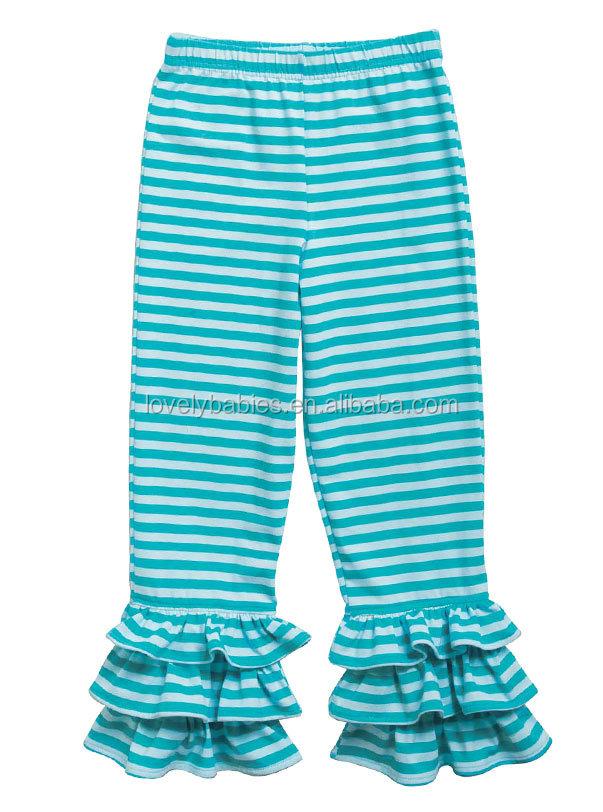Wholesale Kids Knit Triple Ruffle Pants Wholesale Manufacturer In ...