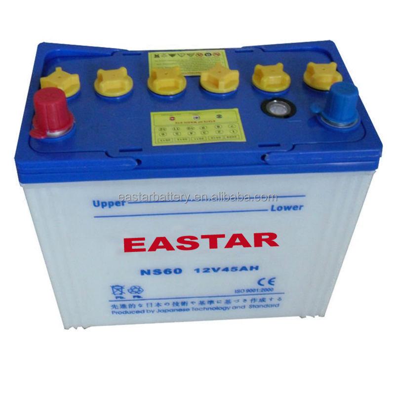China Export High Quality 12v 65ah Car Battery