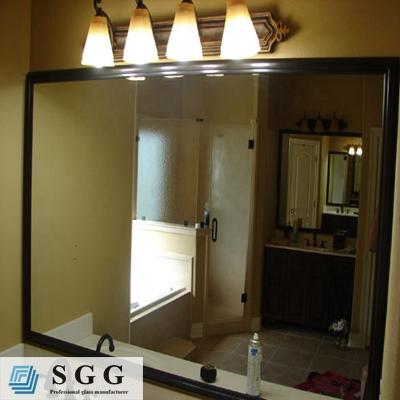 Alta calidad sin marco biselado espejo para cuarto de ba o for Espejo 5mm precio
