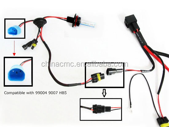 HT19qZOFpplXXagOFbXp h3 h4 h7 h11 9005 9006 hid conversion kit relay wire harness h7 wire harness at eliteediting.co