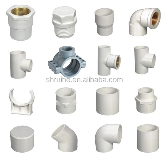 Types of pvc pipe fittings pictures to pin on pinterest for Kinds of pipes