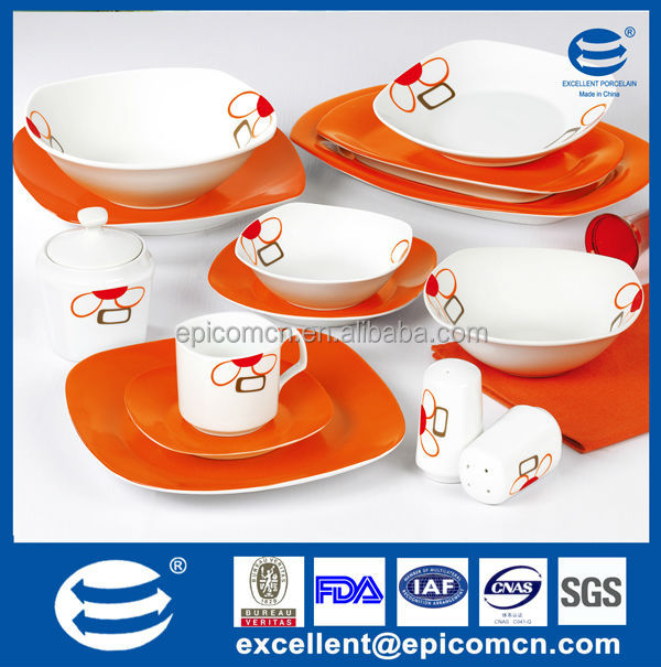 Color Box Packing Super White Porcelain Square Turkish Tableware Full Decal Dinnerware Sc 1 St Alibaba  sc 1 st  pezcame.com & Turkey Porcelain Tableware u0026 Turkish Dinner Set Dubai Tableware ...