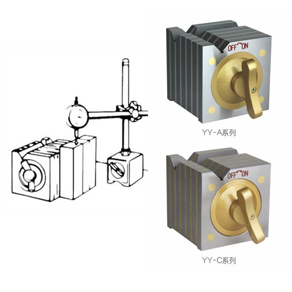 Magnetic V Block Clamp Measuring Tool View Magnetic V
