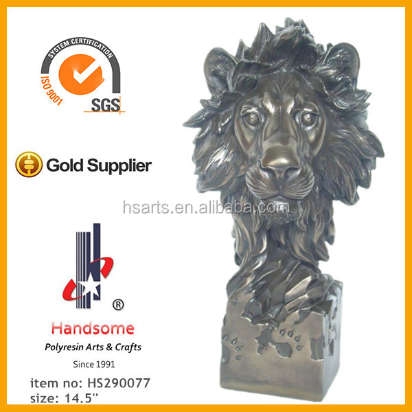 2015 Resin Animal Lion Head