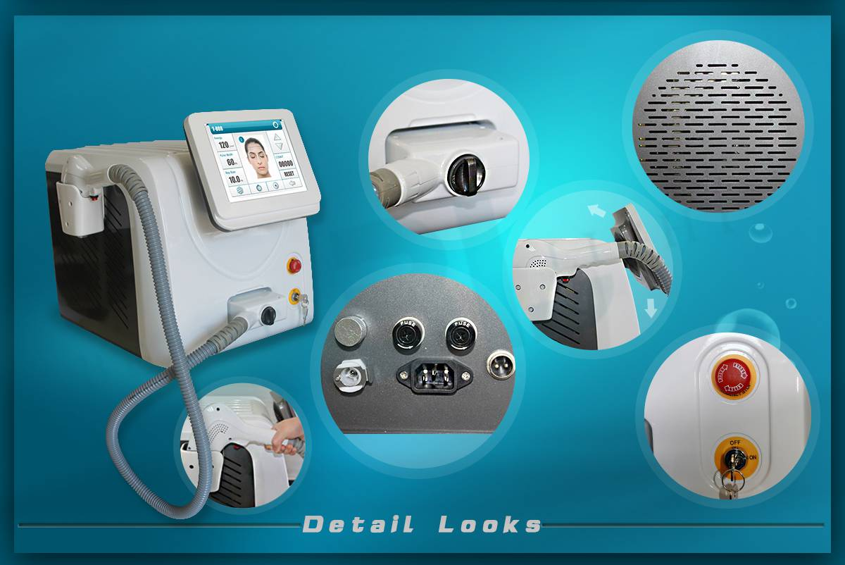 Factory direct hot sale 808nm diode laser hair removal machine