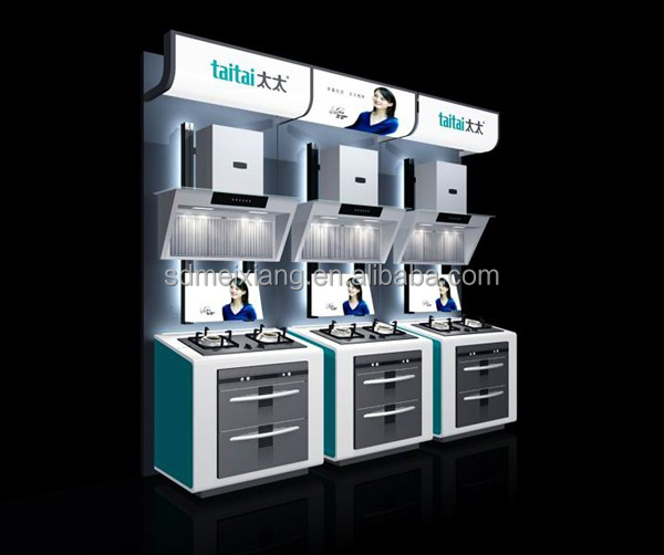 Exhibition Stand Kitchen : Exhibition display stand for kitchen appliance and cabinet