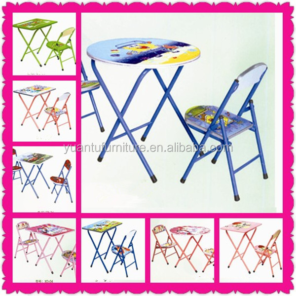 Folding Study Table And Chair Foldable