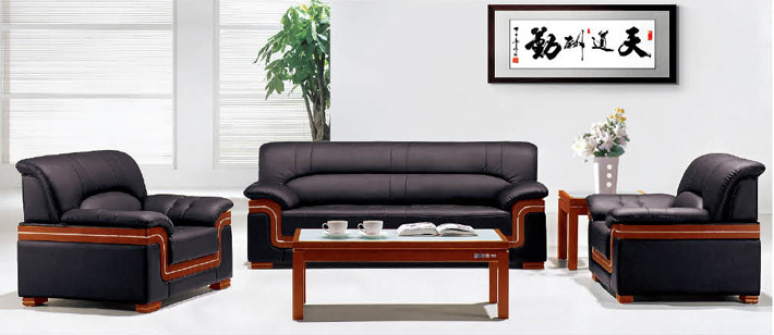 Executive Office Sofa Office Furniture Fabric Sofa Leather