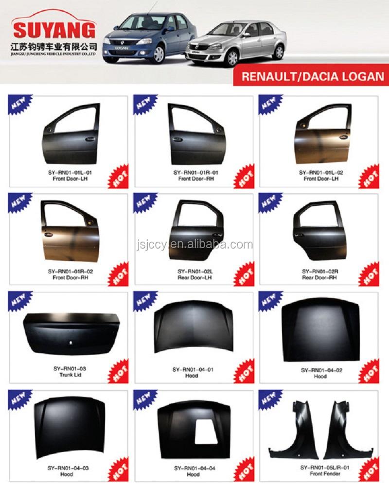 High Quality Renault Dacia Logan Mcv Car Body Parts Kits