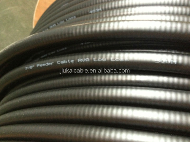 50ohm Corrugated Rf Coaxial Andrew Feeder Cable 1/4