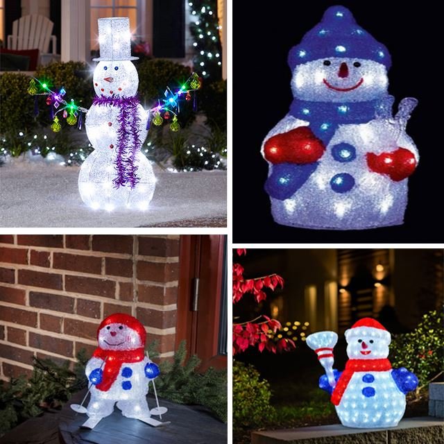 Alibaba Gold Supplier Lowes Outdoor Christmas Snowman