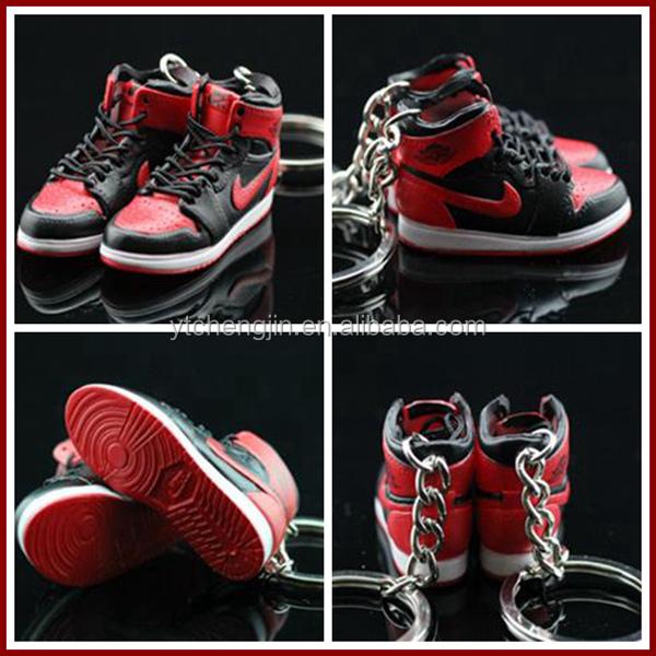 Basketball Jordan Shoe Keychain/fashion Mini Shoe Keychain Sneaker - Buy Fashion Mini Shoe ...