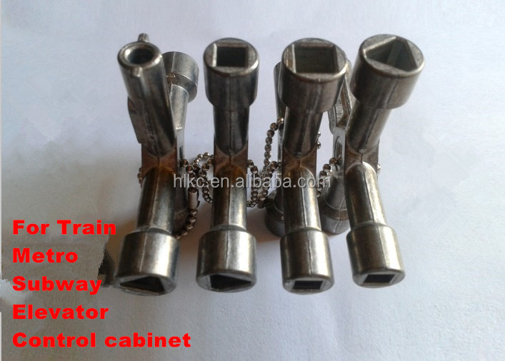 Turning Wrench Cross Wrench Train Keys Cross Key Triangular Key ...