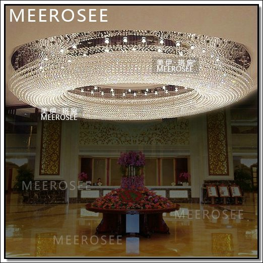 Round Hotel Extra Large Crystal Chandelier Md3385 Buy Hotel
