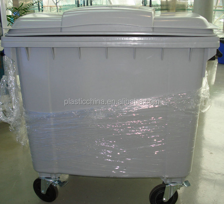 Pure Hdpe Outdoor Large Plastic Waste Container 1100
