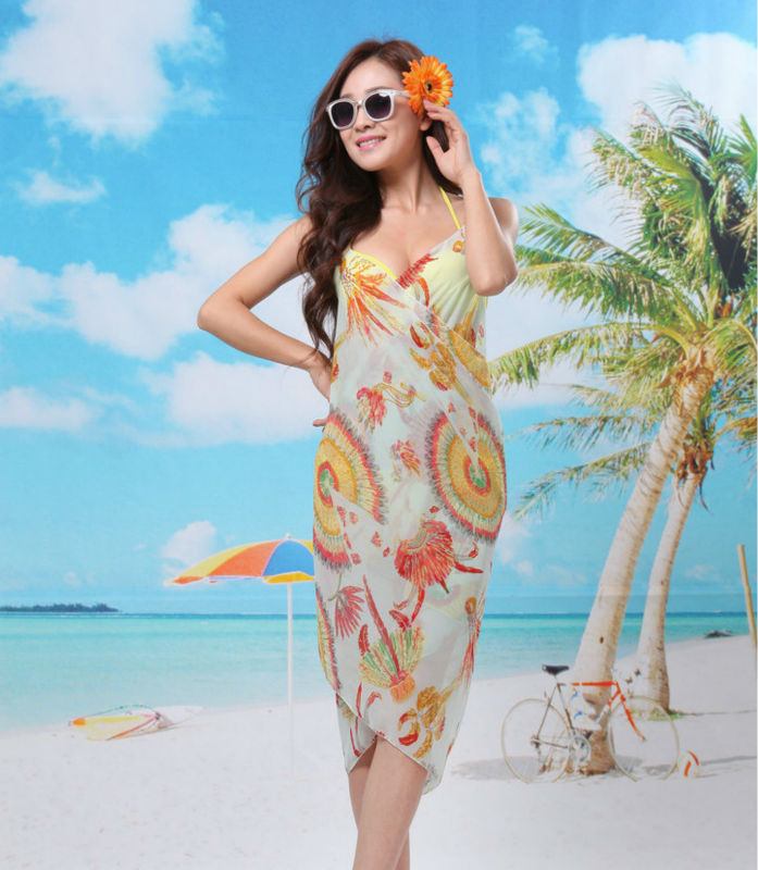 Beach Wrap Cover Up Dress