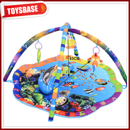 Infant Musical Ocean World Play Mat Gym Sealife Adventure