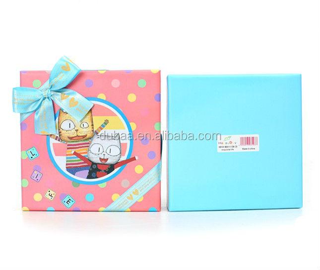 Cartoon Gift Boxes For Baby Clothes,Custom Cartoon Box,Kraft Gift ...