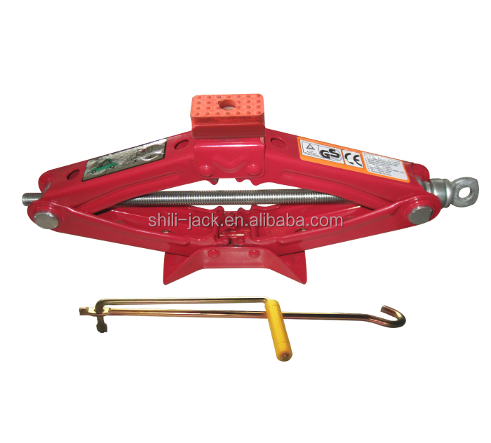 ST-103A CE/GS scissor jack with rubber stopper, vehicle tools, manual car jack