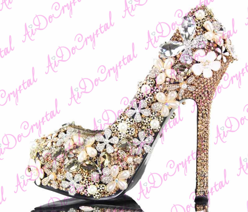 2014 New Design Light Purple Peacock Shoe Making Heels,High Heel ...