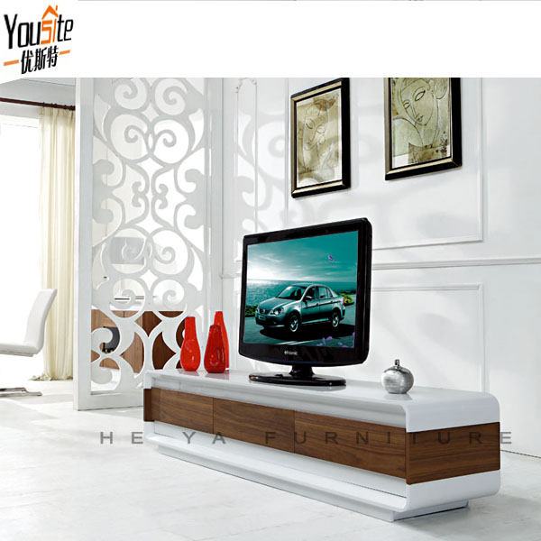 Black And White Tv Table,Fancy Design Wooden Tv Cabinet