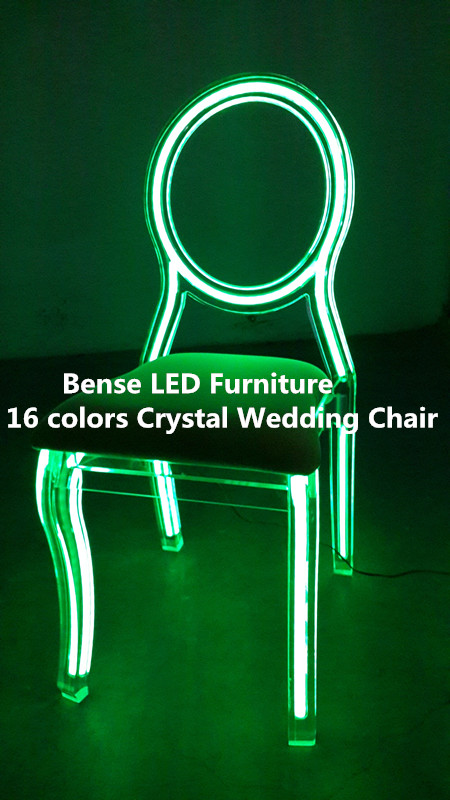 neon furniture. 20142015 fashion design hot led crystal acrylic neon wedding chair furniture
