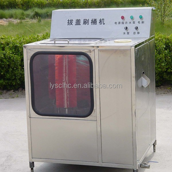 Automatic 5 gallon drinking water bottle washing machine/bottled water manufacturing equipment
