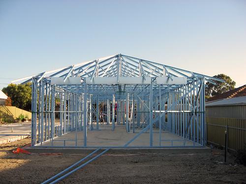 Galvanized Light Steel Frame House - Buy Light Steel Frame House ...