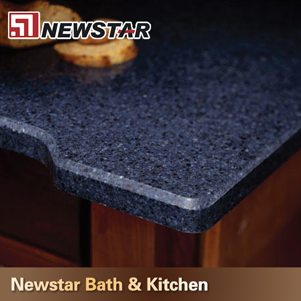 Artificial Dark Blue Quartz Countertops