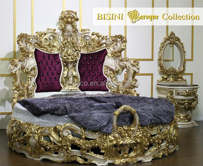 Bisini Baroque Collection Luxury King Round Bed Buy