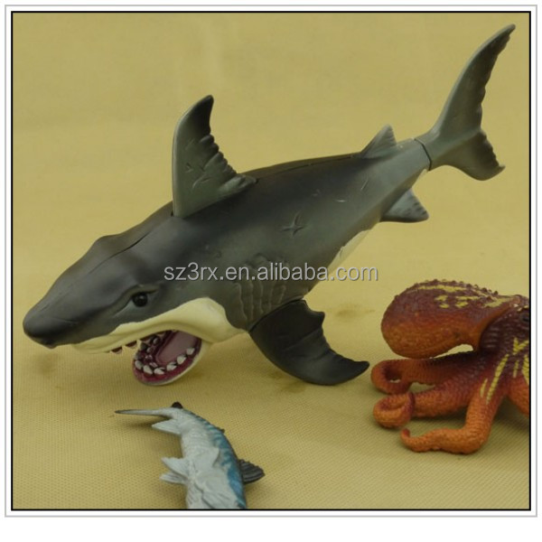 Chinese Toy Manufacturer,Pvc Plastic Toy Shark,Pvc Plastic Animal ...