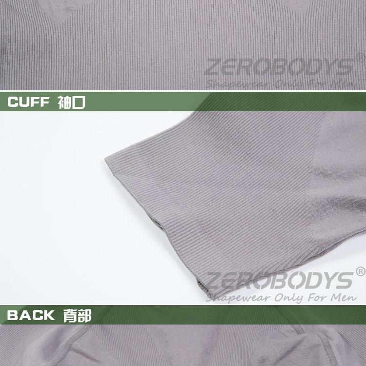 Wholesale ZEROBODYS Comfortable Mens Body Shaper Short Sleeve ...