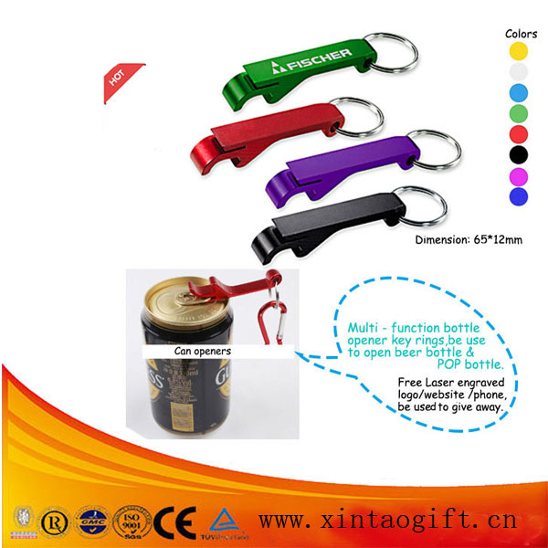 Aluminum Beer Opener Keyring/bottle Opener Keyring/metal Keyring ...