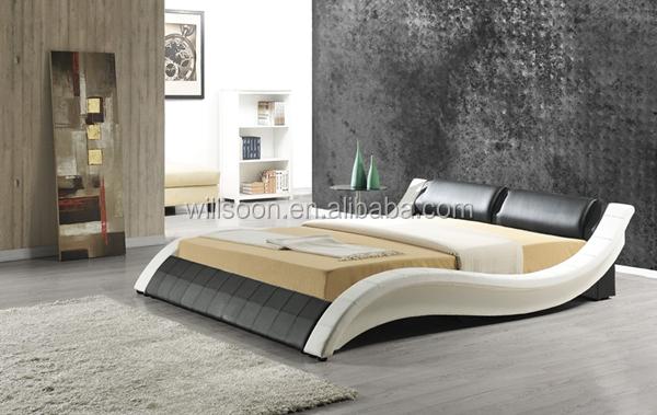modern cushion design size pu soft bed frame 1861