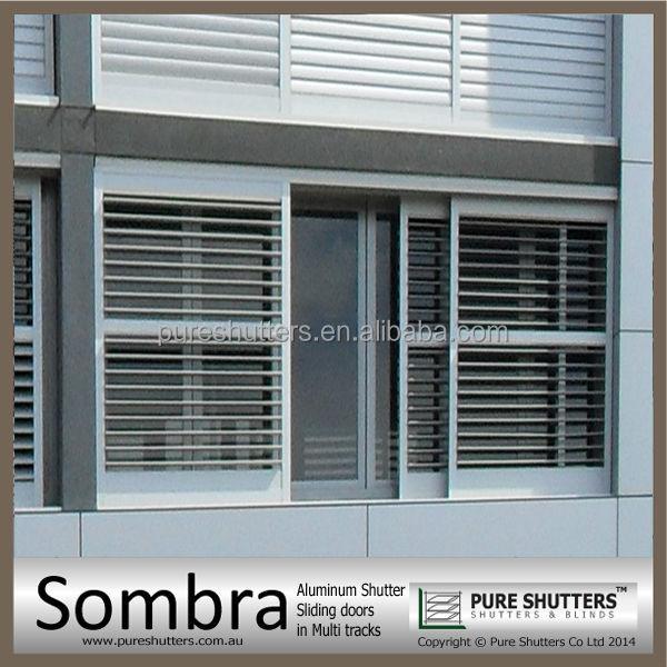 Exterior: Ss021005 Sombra Triple Track Sliding Aluminium Doors