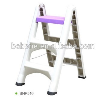 Plastic Folding Step Stool Step Ladder For Kitchen Garden