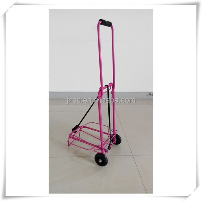 Free Wind Collapsible Hand Luggage Cart Trolley Portable To Carry ...