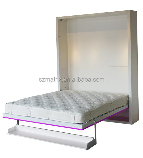 Folding Murphy Bed Modern Vertical Murphy Wall Bed Wooden
